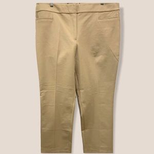 NWT Ann Taylor mid rise flat front ankle pants